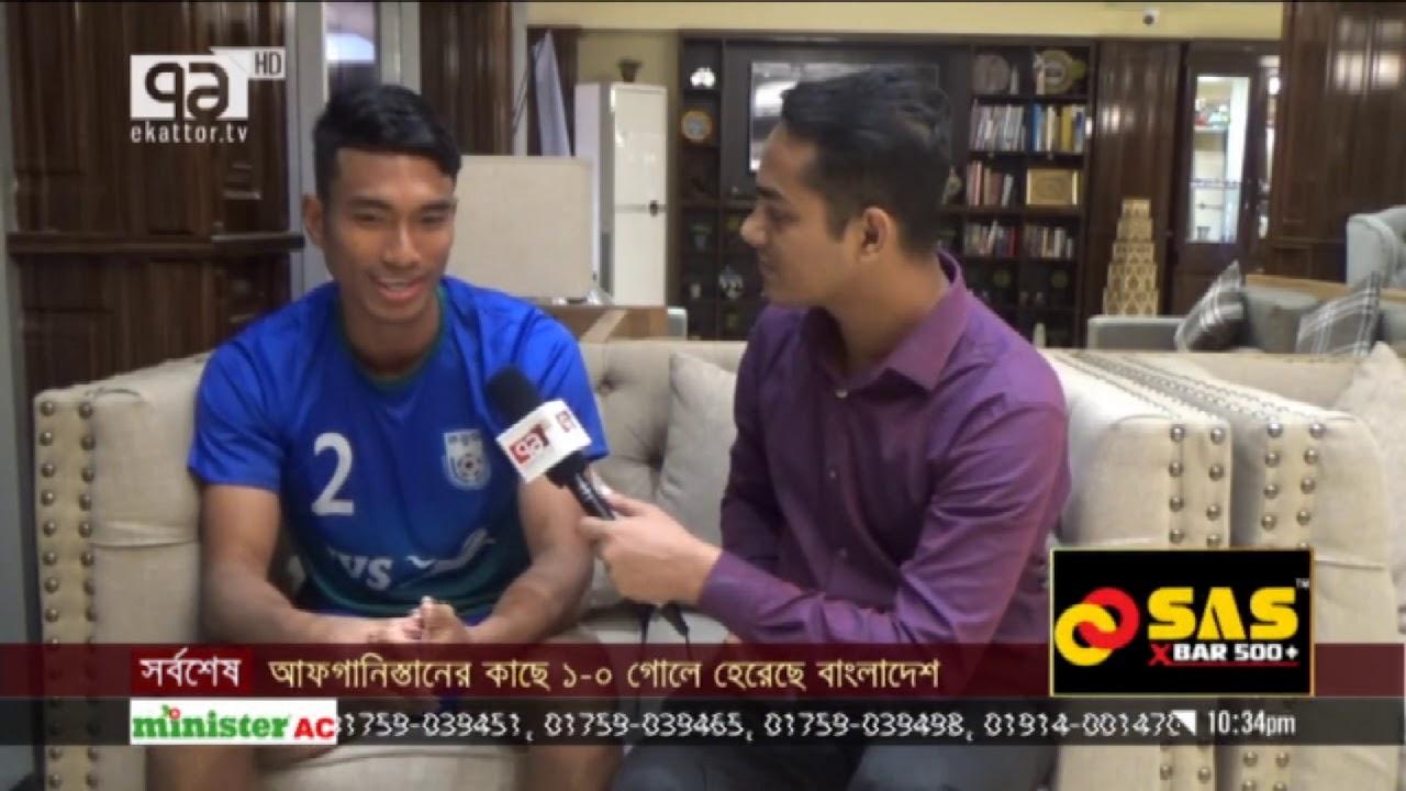 পাড়ার ফুটবল থেকে জাতীয় দলে আসার গল্প   এহতেসাম সবুজ   Khelajog   Ekattor  TV