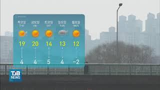 [21.03.17] (날씨)충남 미세먼지 '나쁨'.. …