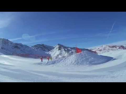 Val Thorens Ski Cross Dec 2016