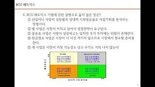4. 공인노무사 경영학개론 3, 경영전략론 3
