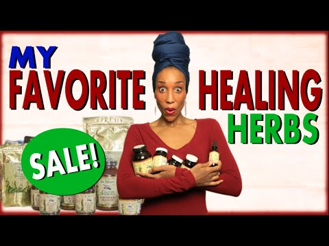 MY FAVORITE HEALING HERBS FOR DETOX! Start your 2020 alkaline detox w/Herbs that really WORK