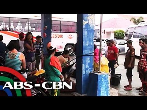 TV Patrol: Pasahero sa Matnog port, stranded dahil sa bagyong Carina