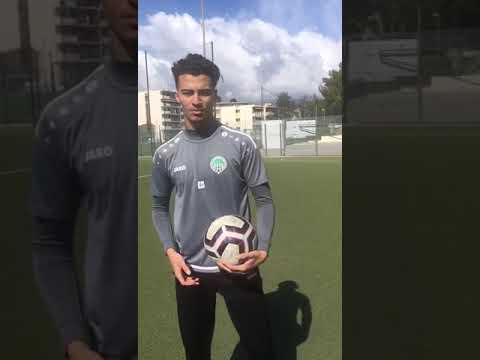 Football trials with Michel Hidalgo Academy