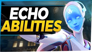 Overwatch Echo New Hero Gameplay - All Abilities