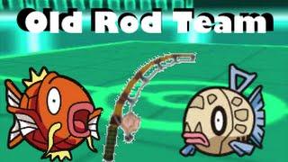 Old Rod Team vs OU Pokemon! Pokemon ORAS Wifi Battle