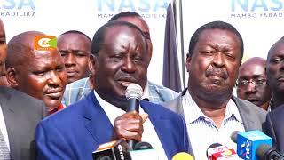 Raila Odinga asema wafuasi wa NASA watasusia makampuni hasimu