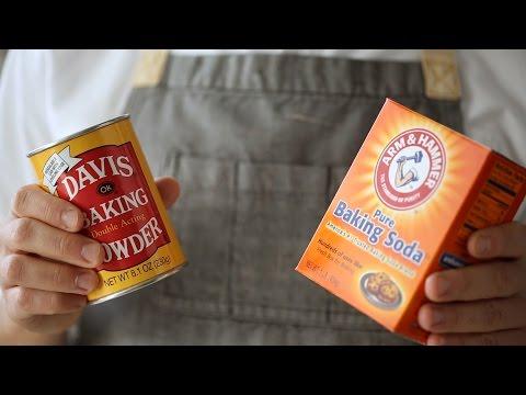 Baking Powder vs  Baking Soda- Kitchen Conundrums with Thomas Joseph