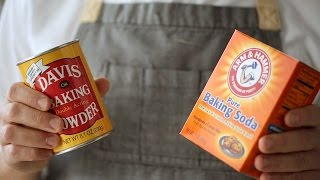 Baking Powder vs. Baking Soda- Kitchen Conundrums with Thomas Joseph