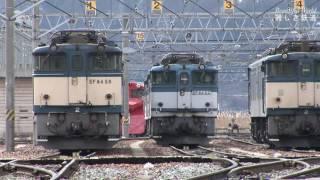 機関車 EF64 アーカイブ 0番台がEH200にバトンタッチする頃 個性的なカマ達 JR貨物塩尻機関区篠ノ井派出 HDV772