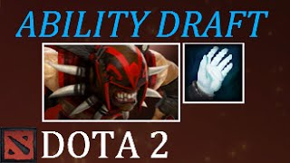 Dota 2 Ability Draft Cold Sniper aka Killseeker