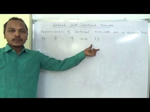 Class 8 maths ICSE Representation of rational numbers on a number line