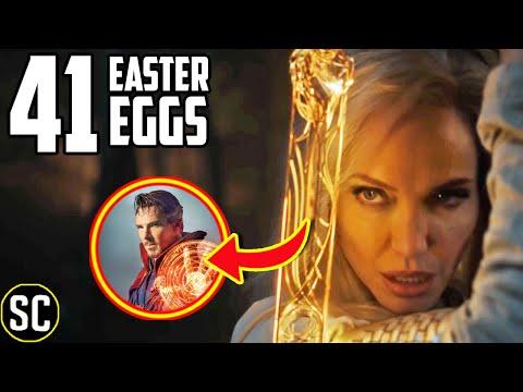 The ETERNALS Marvel Teaser: Every EASTER EGG Explained + Captain Marvel & Black Panther BREAKDOWN