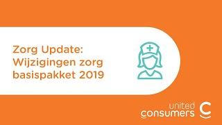 Wijzigingen basisverzekering 2019