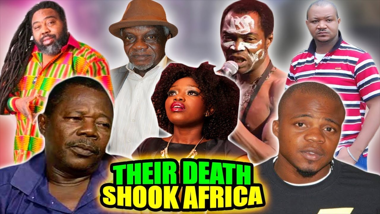 Download 15 Nigerian Celebrities Whose Death Shook Africa