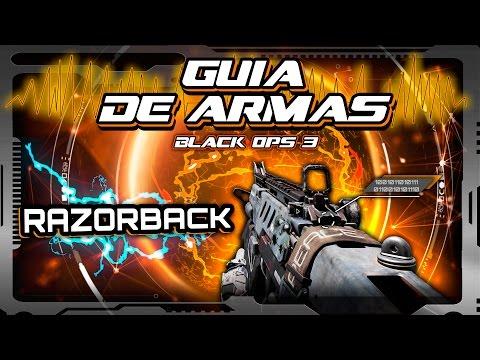 GUIA de ARMAS Black Ops 3 - Razorback (El subfusil que quería ser Rifle de Asalto)