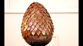 Game Of Thrones Chocolate Dragon Egg | Making Every Genre Delicious