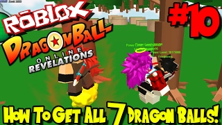 HOW TO GET ALL 7 DRAGON BALLS! | Roblox: Dragon Ball Online Revelations UPDATE - Episode 10