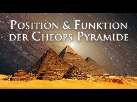 Position & Funktion der Cheops Pyramide - Stephan Josef Timm