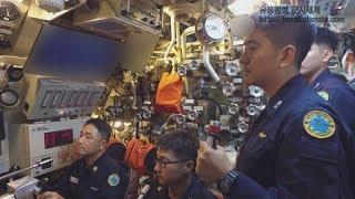 [최초공개] 해군 209급 잠수함 1번함 장보고함 내외부 작전모습 및 승조원 생활 세부 영상 / 해군제공