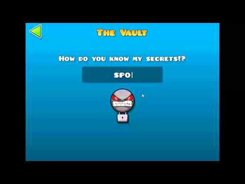 The vault secret room geometry dash 2 0 youtube for Vault of secrets