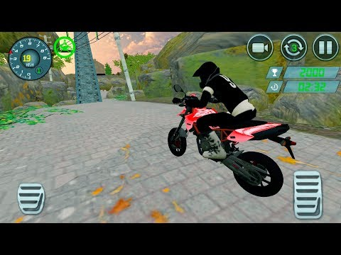Crazy Bike Stunts Rider : Extreme Bike Race Games - Gameplay Android games
