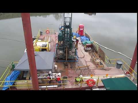 Poseidon Barge Drilling