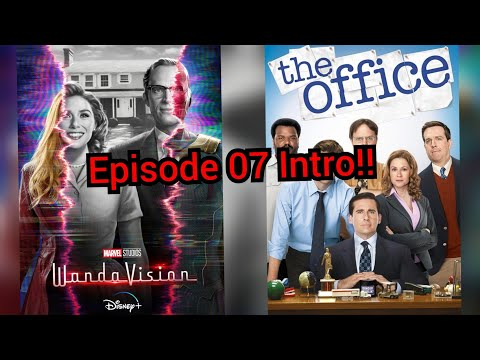 The Office inspired WandaVision Intro | Episode 7 Theme Song Compared