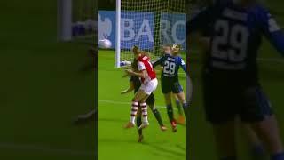 Tobin Heath's first goal with Arsenal