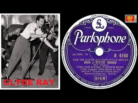 CLYDE RAY With The Ivor And Basil Kirchin Band - Rock-A-Beatin' Boogie (1956)