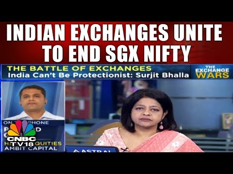 Indian Exchanges Unite to End SGX Nifty | The Exchange Wars | CNBC TV18