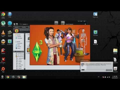 Installing The Sims 3 + University Life