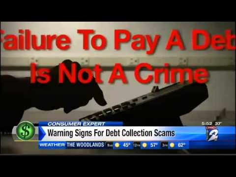 Watching for debt collection scam red flags