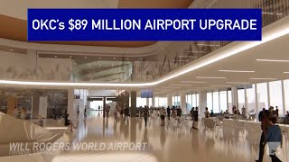 $89 million expansion of OKC's Will Rogers World Airport soon to be completed