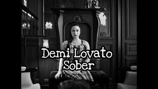 Demi Lovato - Sober (Audio Video)