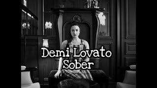 Demi Lovato - Sober (Audio Video)