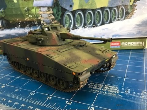 Building the Academy Models, CV 90  Swedish Infantry Tank