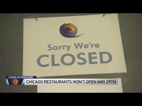 Chicago Restaurants Won't Open May 29, Lightfoot Says
