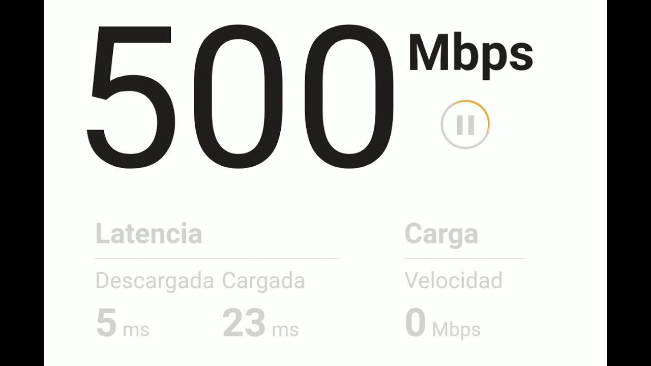 2019 Velocidad Internet Totalplay 500 Mbps - YouTube