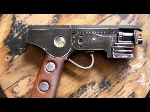 "Dieselpunk Pistol -- ""The RABBITPUNCH"""