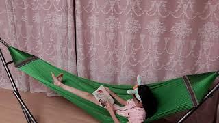 (매일독서)해먹에서 책읽기_♠︎