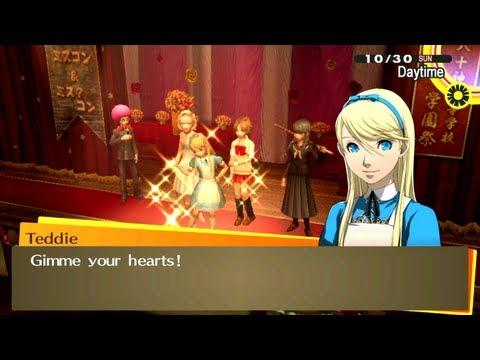 [HD] [PS Vita] Persona 4 Golden - Culture Festival