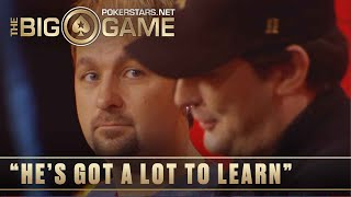 The Big Game S1 ♠️ W6, E1 ♠️ Ft. Daniel Negreanu and Phil Hellmuth ♠️ PokerStars