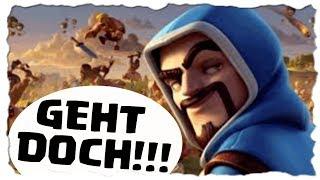 GEHT DOCH!!! - CLANKRIEG - KURZ NACHTDORF | Clash of Clans Deutsch [German] | Let´s Play COC