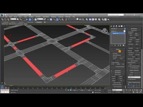 3ds Max - Creating City Blocks - Part 9 - Road Variations