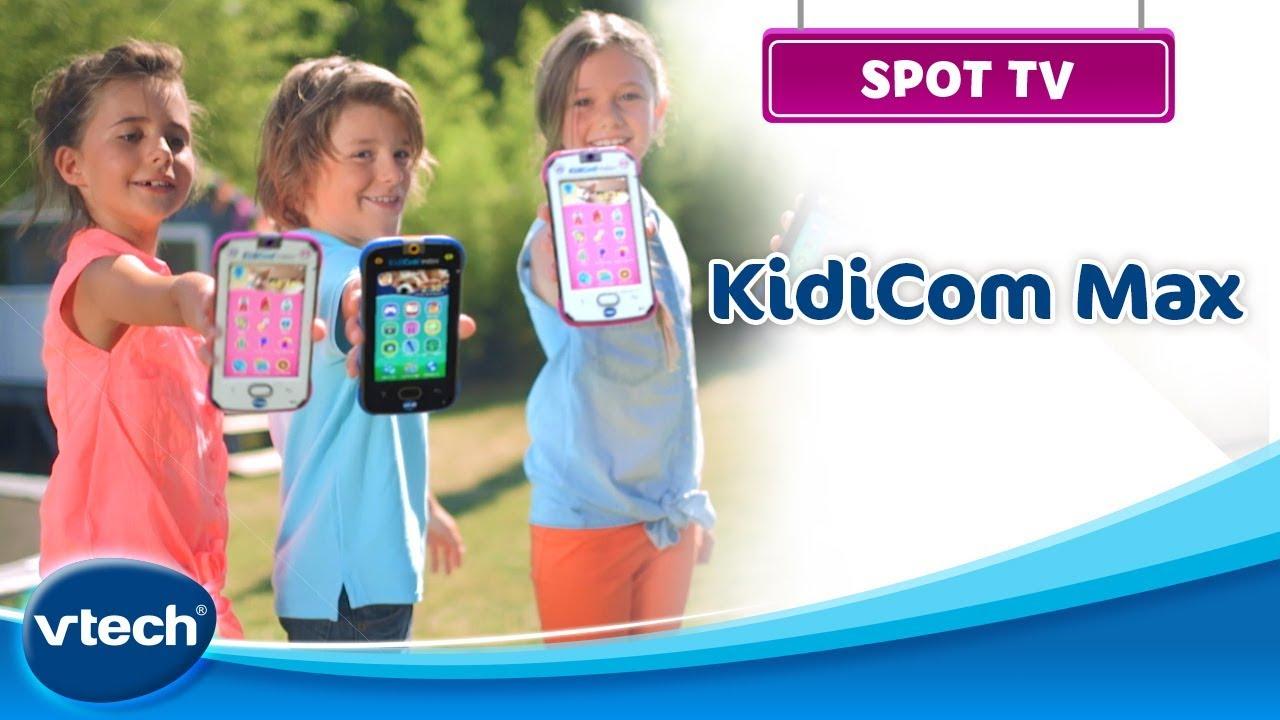 Kidicom Max Le Portable Pour Les Enfants Vtech Youtube