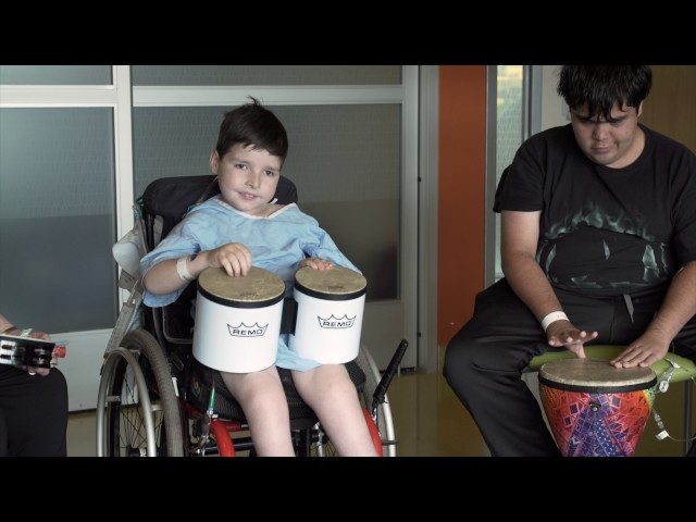 Music Therapy Helps Kids Heal