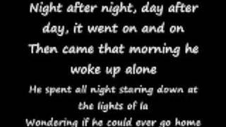 hollywood nights with lyrics