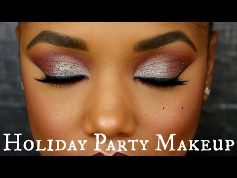 Glam Holiday Party Makeup Tutorial
