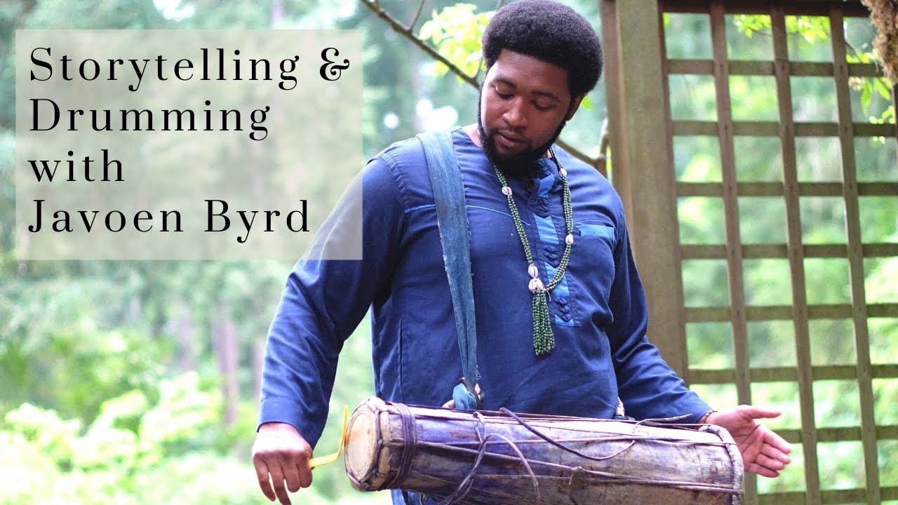 Download Yoruba Storytelling and Drumming with Javoen Byrd of Awodi Drumming