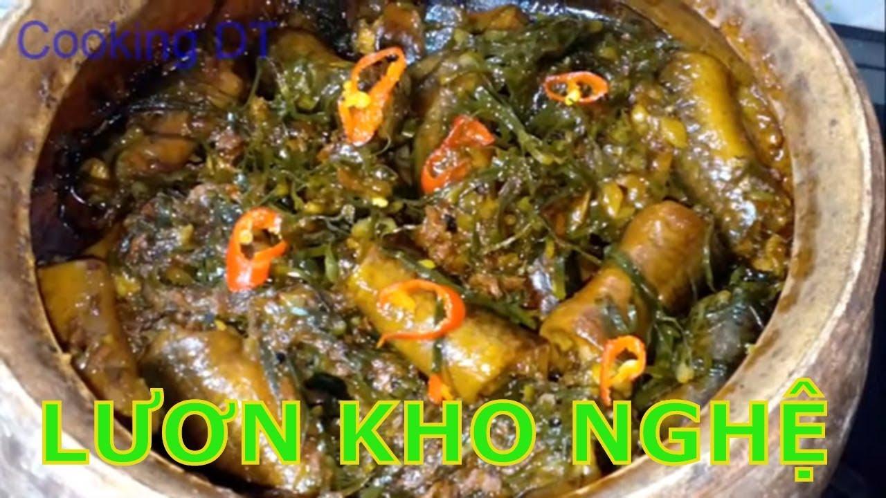 Cách làm MÓN LƯƠN ĐỒNG KHO NGHỆ đậm đà tốn cơm ngày mưa_Cách làm sạch nhớt lươn/ By Cooking DT